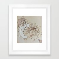 Our Secret Language Framed Art Print