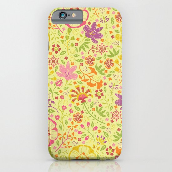 Oriental Blooms iPhone & iPod Case