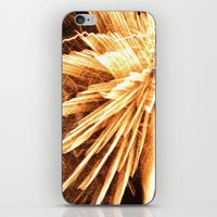 Fire burst iPhone & iPod Skin