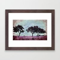 A something in a summer´s day Framed Art Print