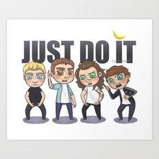 Just 1Do It Art Print
