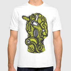 Irradié - the print Mens Fitted Tee White SMALL