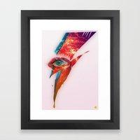 Glam Tear Framed Art Print