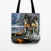 TWO IN ONE SHADOW Tote Bag