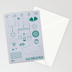 Essence Of Deadspin Stationery Cards