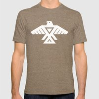 Thunderbird flag - Inverse edition version Mens Fitted Tee Tri-Coffee SMALL