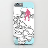 iPhone & iPod Case featuring The Wanderer by DEMETRI ESPINOSA