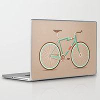 bicycle Laptop & iPad Skins featuring Bicycle by Daniel Mackey