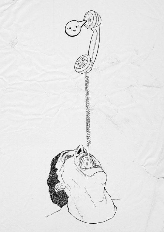 call today Art Print