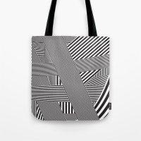 B&W Lines 21/05/14 Tote Bag