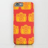 I Still Shoot Film Holga Logo - Reversed Yellow & Red iPhone 6 Slim Case