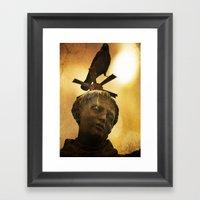 The Watcher Of  Charles … Framed Art Print