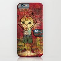 iPhone & iPod Case featuring Give me skull by Fhil Navarro