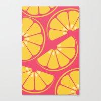 Citrus: Orange Canvas Print