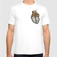 Heart Gone Wild - Color  Mens Fitted Tee White SMALL