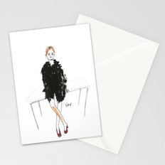 Stella - Cool Downtown Girl in Marker and Gouache Stationery Cards