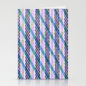 Isometric Harlequin #2 Stationery Cards