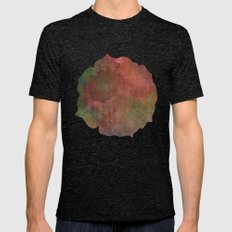 Abstract Me Mens Fitted Tee Tri-Black SMALL