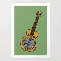 Dobro Art Print