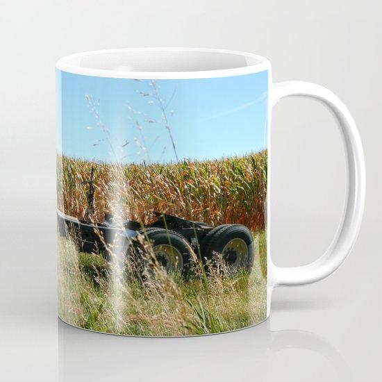 Red Truck in a Corn Field Mug
