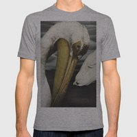 Tom Feiler Pelican Mens Fitted Tee Athletic Grey SMALL