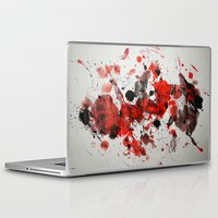 Laptop & iPad Skin featuring Acryl-Abstrakt 29 by teddynash