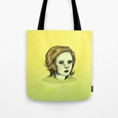 Monotone V Tote Bag
