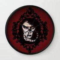 Sweet Transvestite with Frame :: Rocky HorrorPicture Show Fan Art Wall Clock