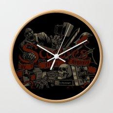 Scoobies Wall Clock