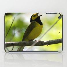 Hooded Warbler iPad Case