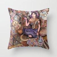 Sheherazade  Throw Pillow