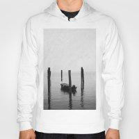 Boat on the lake Hoody