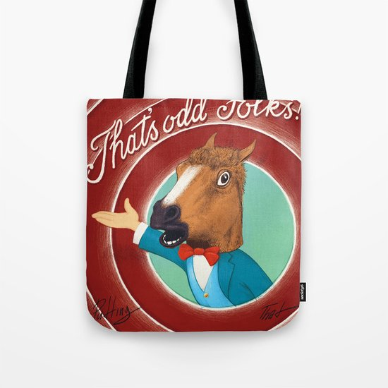 That Is Odd Tote Bag