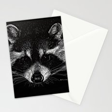 The Curious Raccoon Stationery Cards