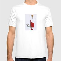Verità Mens Fitted Tee White SMALL