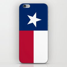 Texas state flag -High Quality Authentic Version iPhone & iPod Skin