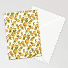 Pineapple Glittering Party Stationery Cards