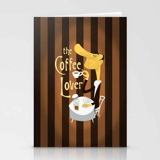 The Coffee Lover Stationery Card