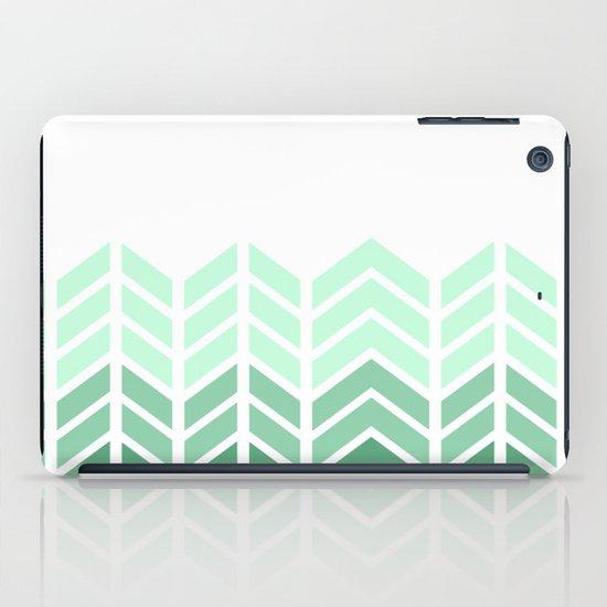 OMBRE LACE CHEVRON iPad Case