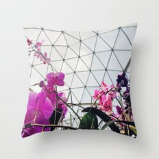Garden Life Throw Pillow