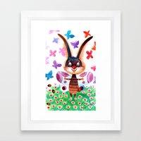 baterfly Framed Art Print