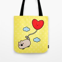 Kimmi's Love Is 0n Cloud… Tote Bag