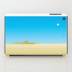 hot desert wind iPad Case