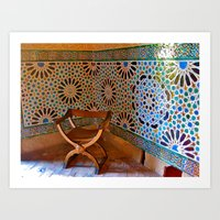 Moorish Art Print