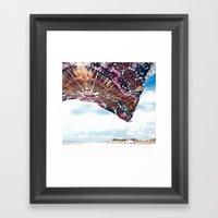 Life Is A Beach - Wander… Framed Art Print