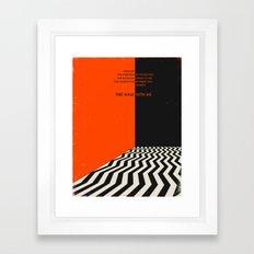 Twin Peaks Framed Art Print