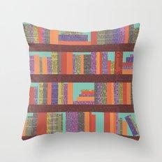 Books II Throw Pillow
