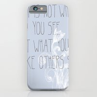 iPhone & iPod Case featuring Not What You See by Portia Alice