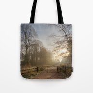 Spruce Ride Tote Bag