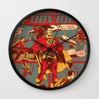 Captain Obvious! Wall Clock